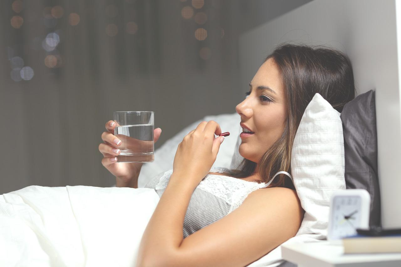 Suplementy na sen i zasypianie